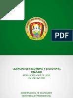 Licencias Seguridad y Salud en El Trabajo0