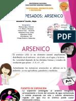 Diapositibva de Arsenico