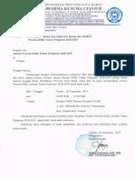 Surat Pemberitahuan Validasi Jazah Dan Jadwal Sidik Jari