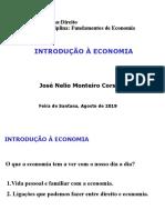 1 Introdução à Economia