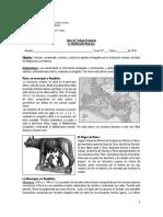 Guía de La Civilizacion Romana 2018