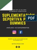 eBook Guía Suplementación Deportiva Para Dummies - Nutri4train