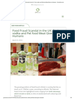 Food Fraud Scandal in the UK_ Toxic Vodka and Pet Food Meat Given to Humans - GreenArea.me