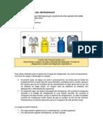Métodos de Carga Del Refrigerante 1