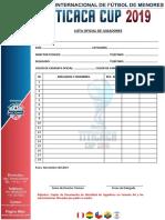 Formato F2 - Lista Oficial de Jugadores