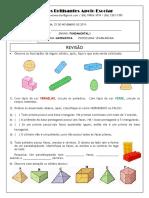Revisão de Matemática - 4º ano - Frações