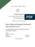 L. Bonotti -Nuovi sviluppi nell'impiego di biomateriali nelle costruzioni rurali.