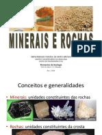 Minerais e Rochas Eng 2018-2