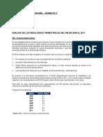 Informe PIB Economía - Momento II