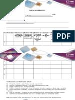 Formato Propuesto Para El Plan de Mejoramiento