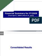 2 Dentsu Financial Summary