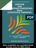 Odor and Ammonia Emissions from Livestocks