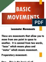 Basic Movements