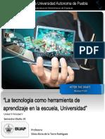 """Ensayo """"La tecnologia como herramienta de aprendizaje en la escuela, Universidad"""""""