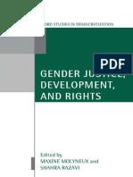 10.Maxine Molyneux, Shahra Razavi_Gender Justice, Development and Rights