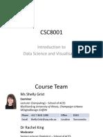 CSC8001 Course Intro