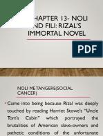 Chapter 13 Noli and Fili 1