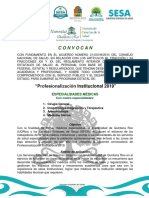 Convocatoria 2019_ Profesionalización Institucional EM_ SESA-UQRoo