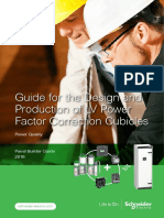 Schneider Electric Guide for the Design and Production of LV Power Factor Correction Cubicles