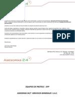 Asesorias 24x7 - Presentacion Equipos -