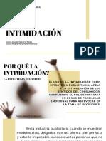 INTIMIDACIÓN EN LA PUBLICIDAD