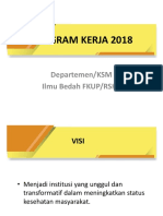 Program Dept KSM Ilmu Bedah 2018