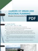 Urban Planner Thinkers