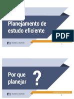 Planejamento de Estudo Eficiente