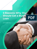 5 Reasons Why You Should Get a Business Loan