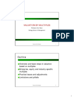 Valuation by Multiples Lecture2perPage