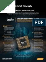 MediaTek Dimensity 1000 5G infographic