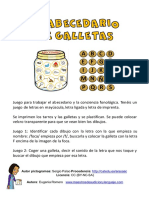 2-5, 8,9 El Abecedario de Galletas