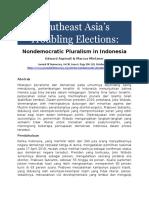 Nondemocratic Pluralism in Indonesia