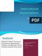 Law of Internationall Organizations