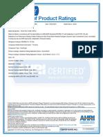 Ahr i Certificate