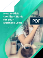 How to Pick the Right Bank for Your Business Loan