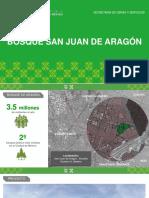 Diseño Urbano Recuperacion de Bosque de Aragón