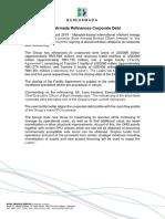 Press Release - Bumi Armada Refinances Corporate Debt 240419 (1)