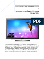 PLASMA TV------------ GUIDE FOR REPAIRING -.pdf