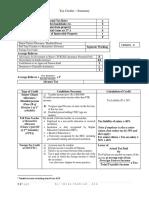 Tax Credits - TY 2019