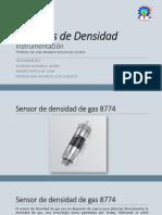 Sensores de Densidad Presentacion