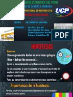La Hipotesis-grupo 1