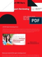 Acs Rpl Report Reviewing Service