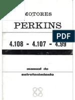 Manual de Entretenimiento Motores Perkins