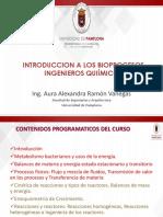Introduccion Bioprocesos i Ing. Quimicos 2019