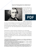 Lehrte Immanuel Kant die Überlegenheit der weißen Rasse?