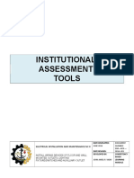 7. INSTITUTIONAL ASSESSMENT TOOLS FBS NCII.doc
