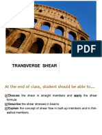Chapter 4 Transverse Shear