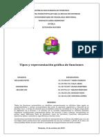 Tipos y representación gráfica de funciones