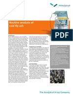Routine Analysis of Coal Fly Ash
